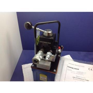 SPX POWER TEAM PA6DM-HUCK AIR HYDRAULIC FOOT PUMP W/ PARKER TC372 & TC371 FIT.