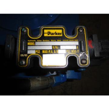 Natchi PSV0B-83-E30 Hydraulic Power Unit 2HP 4GPM