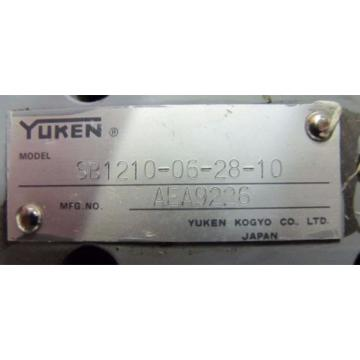 YUKEN A56-FR04E140-4212 21 MPA 56.2 CM³/REV SB1210-06-28-10 HYDRAULIC PUMP