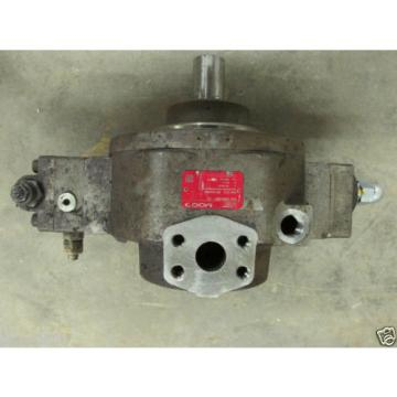 MOOG D956-2001 /D TYPE HZ-R18A1-RKP100TM28U1Y00 HYDRAULIC PUMP YEAR BUILT 12/12