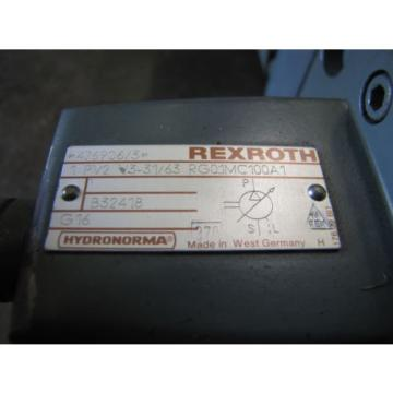 REXROTH 1PV2V3-31/63RG01MC100A1 1PV2V4-20/32RE01MC0-16A1 VANE HYDRAULIC PUMP