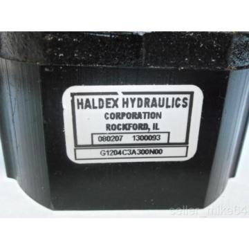 """HALDEX HYDRAULICS G1204C3A300N00 APPROX 1/2"""" SHAFT HYDRAULIC PUMP, NEW"""