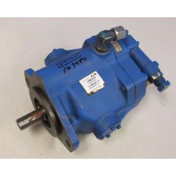 "EATON 02-341552 070424RB1011 PVQ20-B2R 7/8"" APPROXIMATE SHAFT HYDRAULIC PUMP"