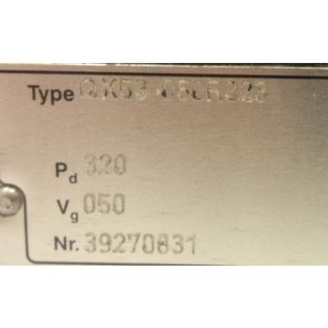 Bucher size 53 hydraulic gear pump
