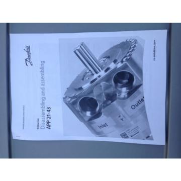 Danfoss APP 21-30 Pump, Valve Plate Set