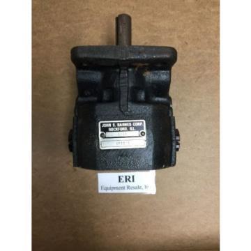 John S. Barnes Corp. 4295 Hydraulic Gear Pump. 4F651A.  Loc 15C