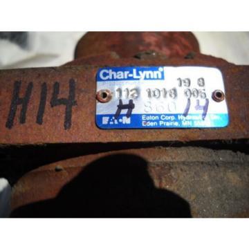 CHAR LYNN 6000 SERIES HYDRAULIC MOTOR DITCH WITCH 112 1018 005