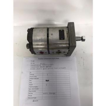 Parker hydraulic double gear pump 3349121405