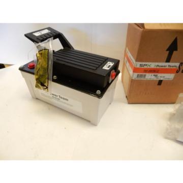 SPX POWER TEAM PA6M AIR/HYDRAULIC PUMP 10,000PSI MAX METAL RES. NEW