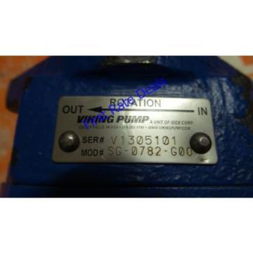 """Viking SG-0782-G0O Spur Gear Hydraulic Pump 5/8"""" Shaft Clockwise 8 GPM 2250 PSI"""