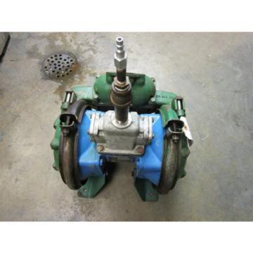 Sandpiper Double Diaphragm Pump  Model SB11/2-A Type SI-4-CI Rebuilt