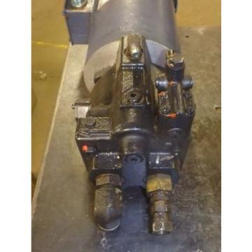 Parker Hydraulic Pump PVP1636RM12 W/MOTOR_3HP C143T17FZ1B_230/460 VOLT