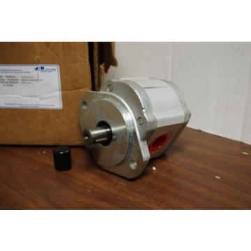 JOHN S. BARNES HYDRAULIC PUMP 1303193 JBS W9A1-08-R-3-B-O1-N NEW KEYED SHAFT