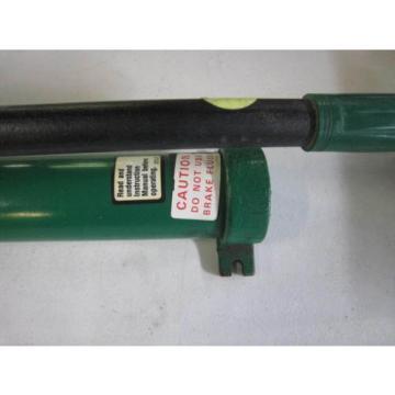 NEW Greenlee 755 High-Pressure Hydraulic Hand Pump FREE SHIPPING