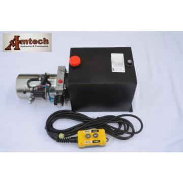 3210S Dump Trailer Hydraulic Power Unit,12V Single Acting,10L Metal Tank, OEM