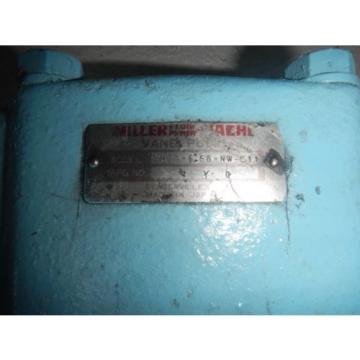 Miller VH2A-6.5G-NW-C11 Hydraulic Fixed Vane Pump
