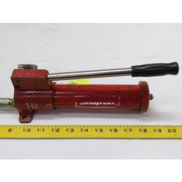 Snap-On CGA-2A Single Stage Hydraulic Hand Pump (Leaks @ Plunger)
