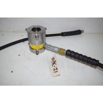 ENERPAC HYDRAULIC CYLINDER   RCH120  10,000PSI   12TON  CYLINDER   CODE: HC-21