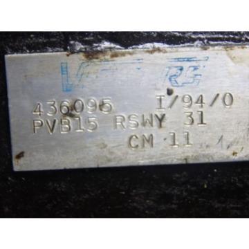 Vickers Hydraulic Pump PVB15-RSWY-31-CM-11_PVB15RSWY31CM11_WITH BASE