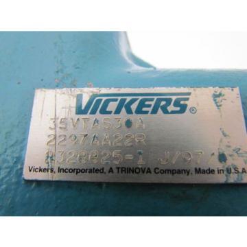 Vickers 35VTAS30A 2297AA22R Thru Drive Type Hydraulic Pump