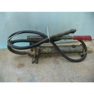 "Hydraulic 16"" long Hand Pump w/6' Hi-Pressure hose+ quick-connect"