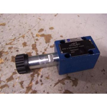 NEW Italy Germany REXROTH 4WE 6 D62/EG24K4 SO293 HYDRAULIC DIRECTIONAL VALVE