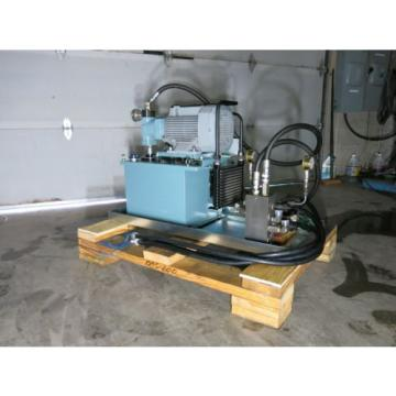 5 HP 10.5 GPM 2000 PSI Hydraulic Power Supply With Control Valves Sharp