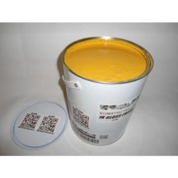 Komatsu Excavator Dozer Yellow Gloss paint 5 Litre