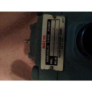 nachi variable vane pump VDW-1A-2A2-W-10