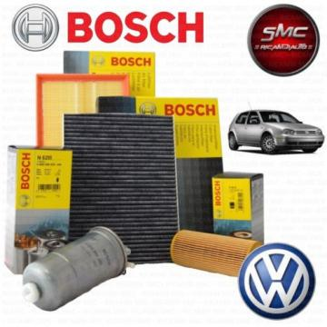 INSPEKTIONSKIT FILTERSET 4 FILTER OEM BOSCH VW GOLF 4 1.9 ASZ / ARL