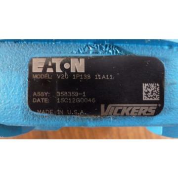 Eaton Vickers V20 1P13S 11A11 Hydraulic Pump *New Old Stock**