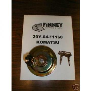 Komatsu Crawler Dozer Locking Fuel Cap 20Y-04-11160 key