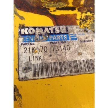 New OEM Komatsu Genuine PC160 Excavator Bucket Link 21K-70-73140 Warranty!