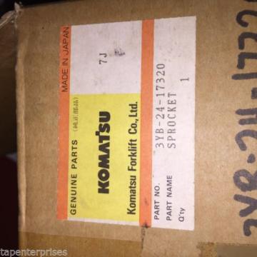 Komatsu Sprocket 3YB-24-17320