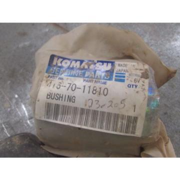 NEW GENUINE KOMATSU BUSHING PART # 416-70-11810