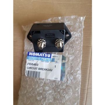 New Komatsu Circuit Breaker 24V 50AMP PB8460