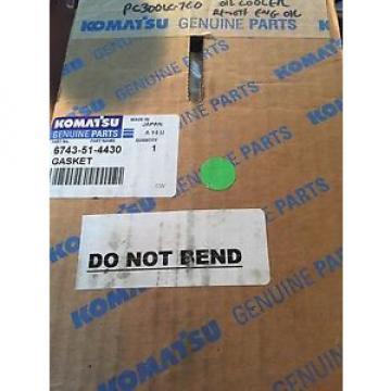 Genuine Komatsu Parts 6743514430