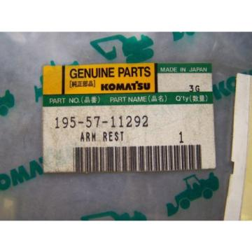 Komatsu D80-D85 Arm Rest Part # 195-57-11292 New In The Package