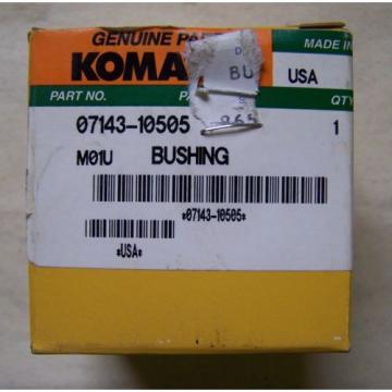 Komatsu D50-65-85... Blade Cyclinder Bushing - Part# 07143-10505 - Unused in Box