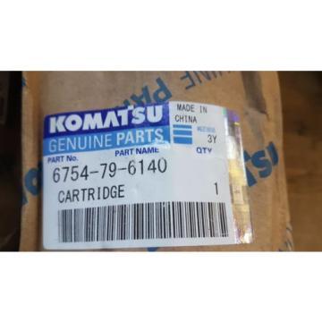 QTY of 2 New Komatsu Cartridge 6754-79-6140