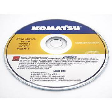 Komatsu PC100-6,PC120-6,PC120LC-6,PC130-6 Excavator Shop Repair Service Manual