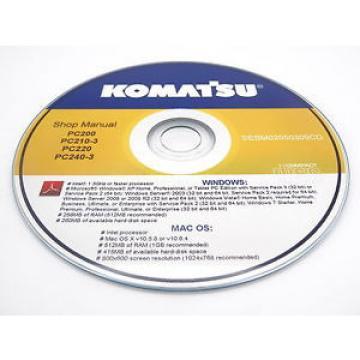 Komatsu PC20MRX-1 Hydraulic Excavator Shop Workshop Repair Service Manual
