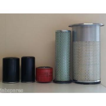 Komatsu PC100-5, PC100-6, PC120-5, PC120-6 w/S4D95L Eng. Filter Service Kit