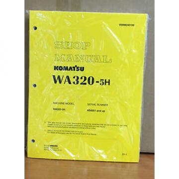 Komatsu WA320-5H Wheel Loader Shop Service Repair Manual (H50051 & up)