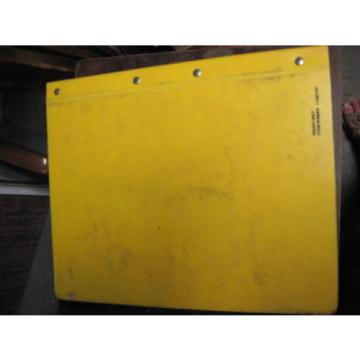 OEM KOMATSU PC200LC-6 Hydraulic Excavator PARTS Manual
