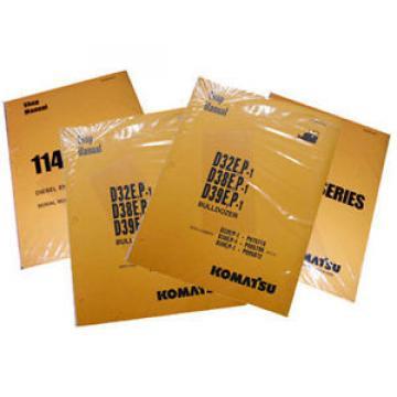 Komatsu PC12R-8, PC15R-8 Operation & Maintenance Manual Excavator Owners Book