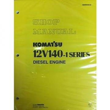 Komatsu 12V140-1 Series Engine Factory Shop Service Repair Manual