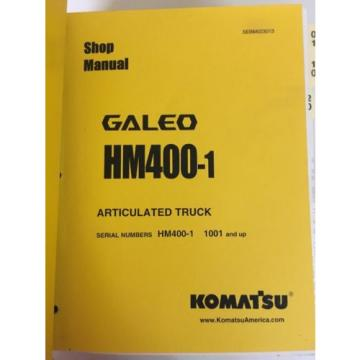 Komatsu HM400-1 Articulated Truck HM400-1 1001 And Up