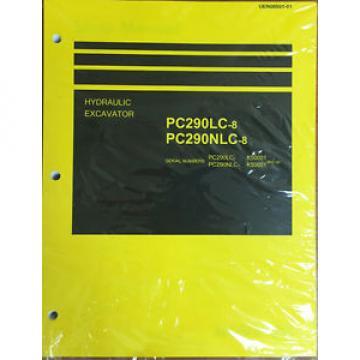 Komatsu PC290LC-8, PC290NLC-8 Hydraulic Excavator Shop Manual Repair
