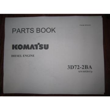 Komatsu PC12UU-1 mini excavator parts Manual